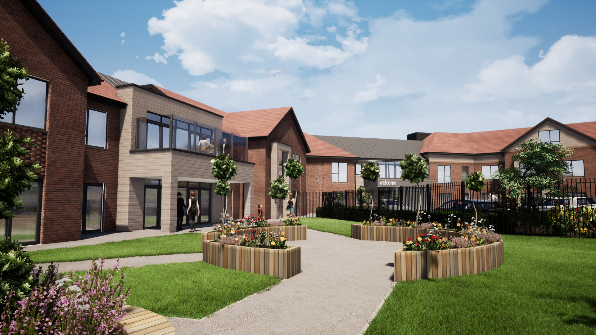 A new 72-bedded care home in Crewe, Cheshire