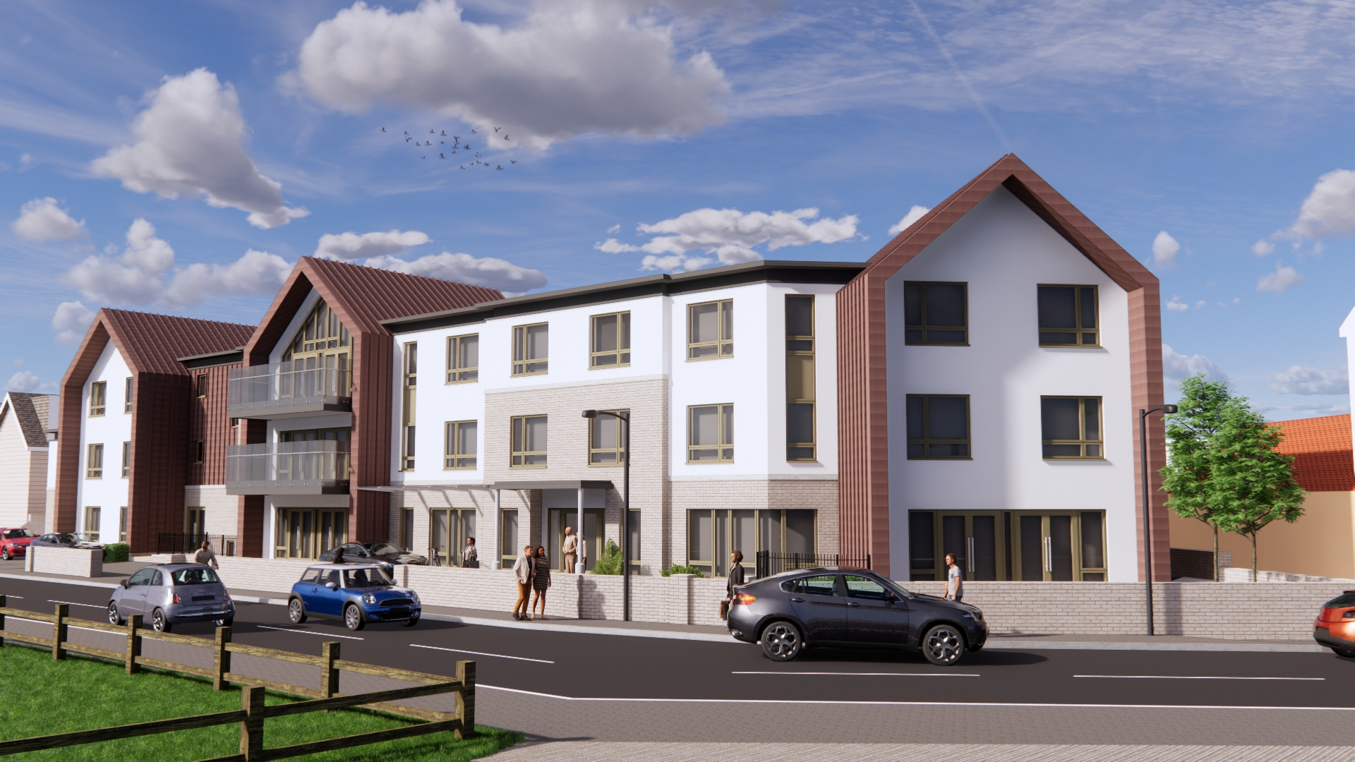 A new 66-bedded care home in Lancing