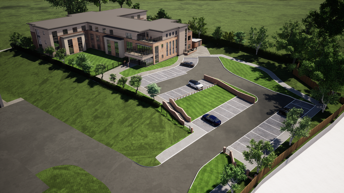Planning permission received for a care home in Stoke-on-Trent