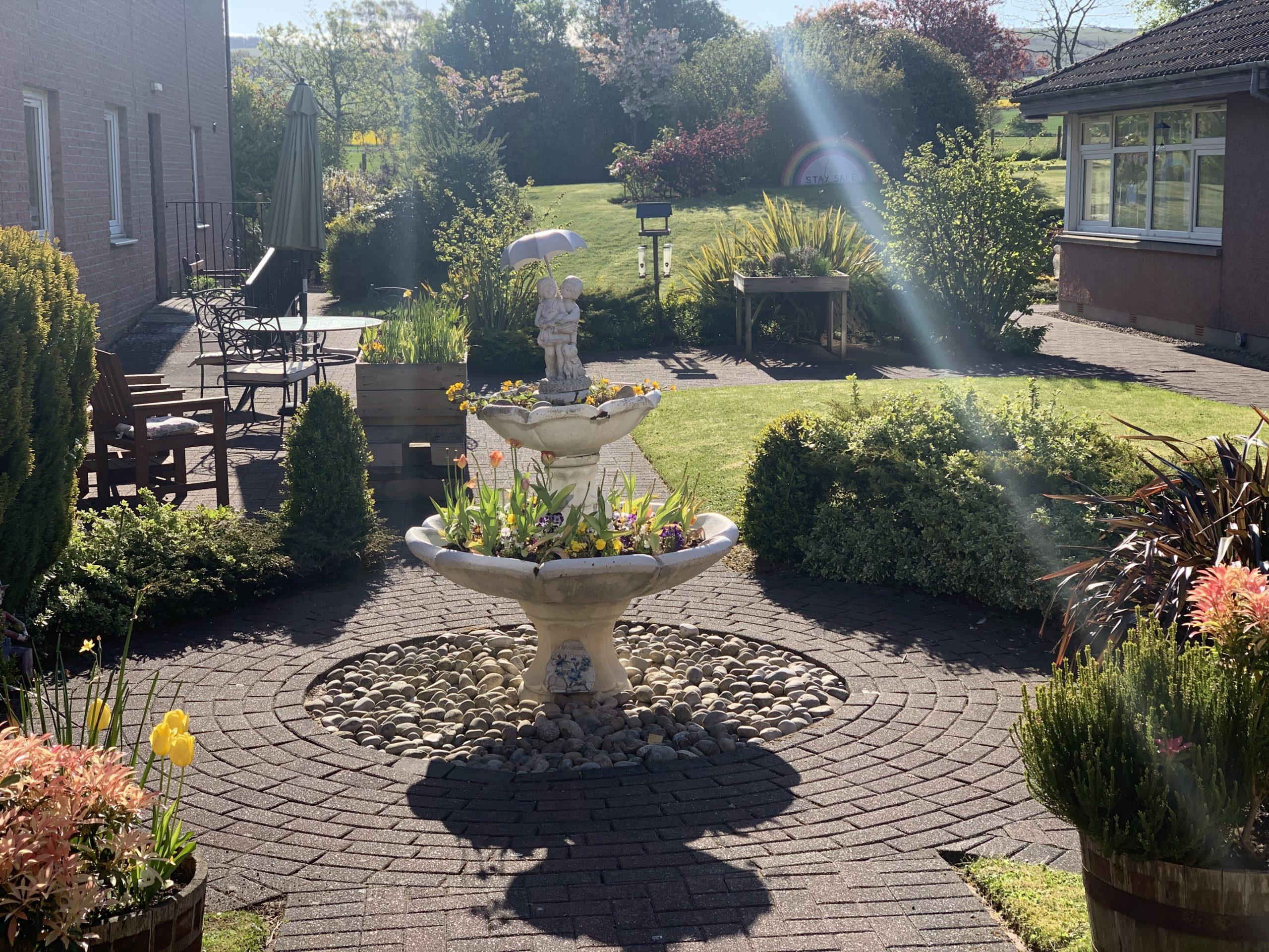 Burnside - garden area
