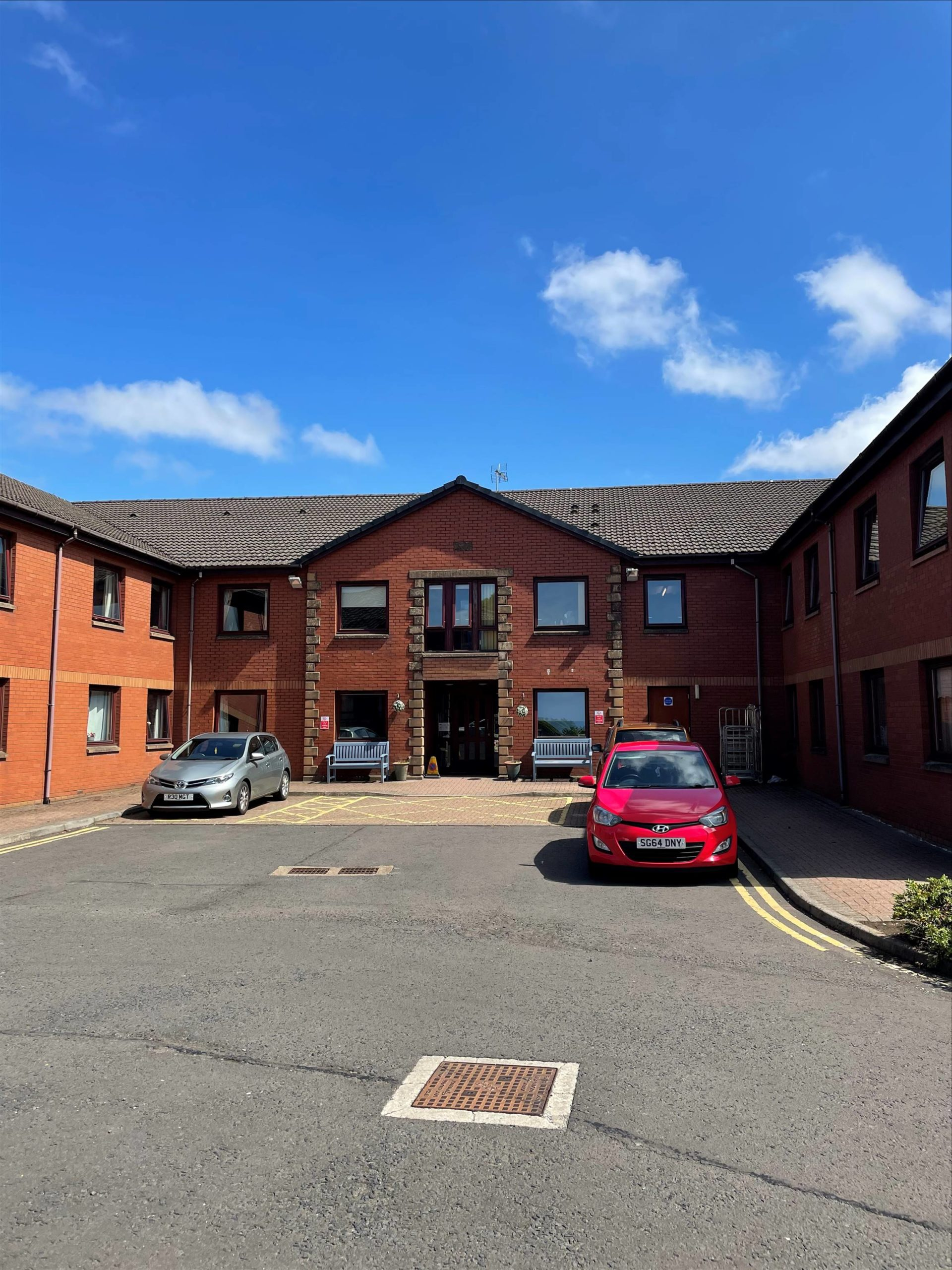 Ranfurly Care Home - Front entrance