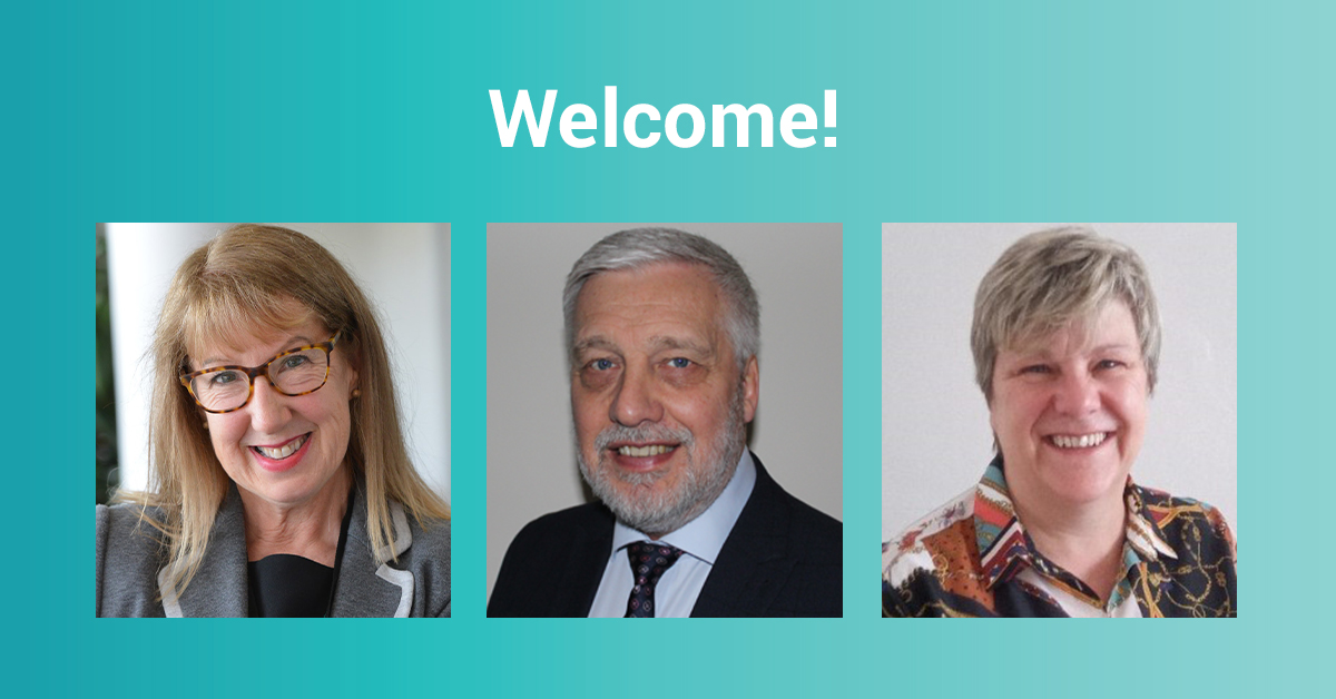 A warm welcome to three new team members joining our senior management team.