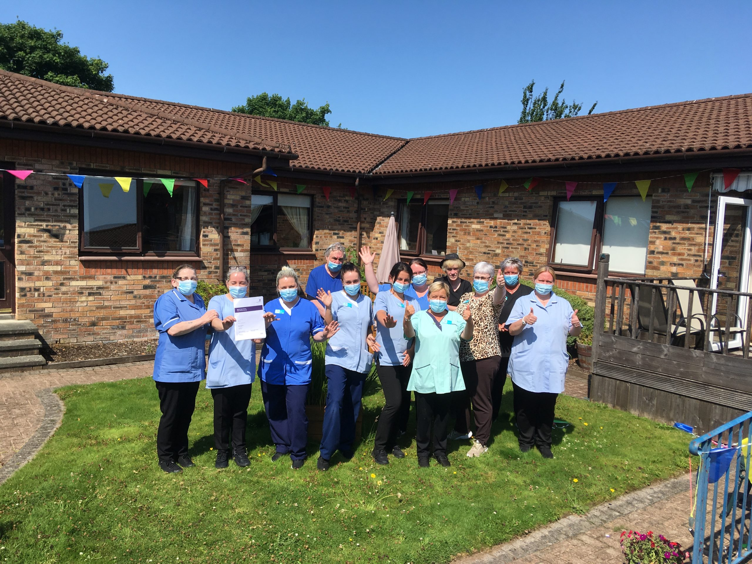 Spiers Care Home in Beith praised by Care Inspectorate Scotland