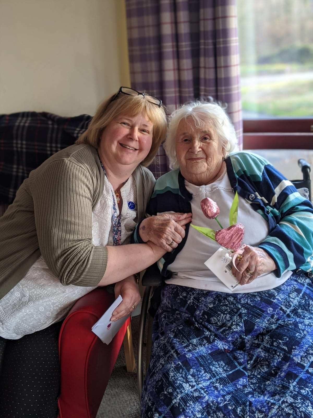 A daughter of a care home resident dedicates a poem to her home to champion social care during Care Home Open Week