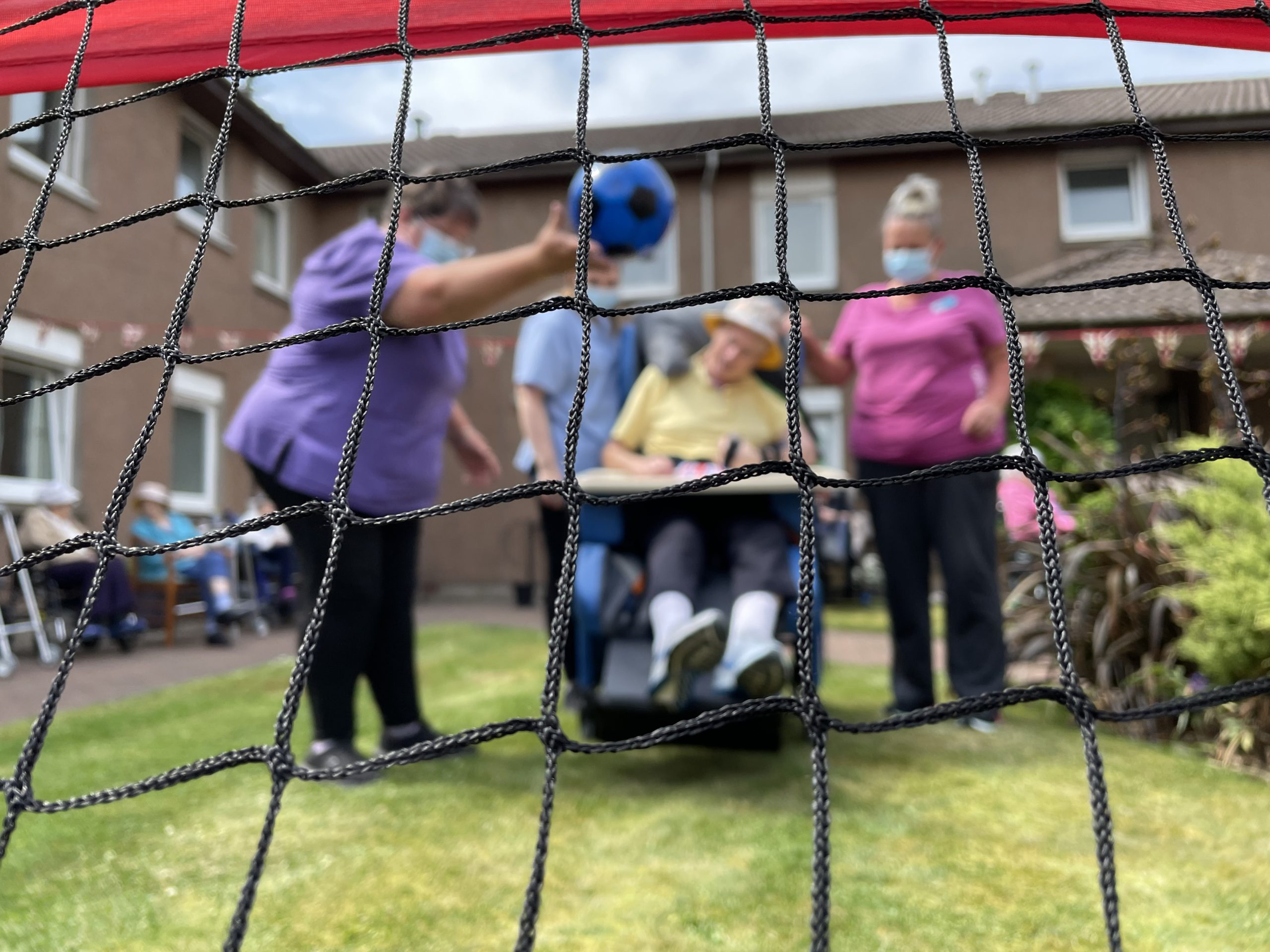 Residents enjoy fun and games at Care Home Sports Day Event