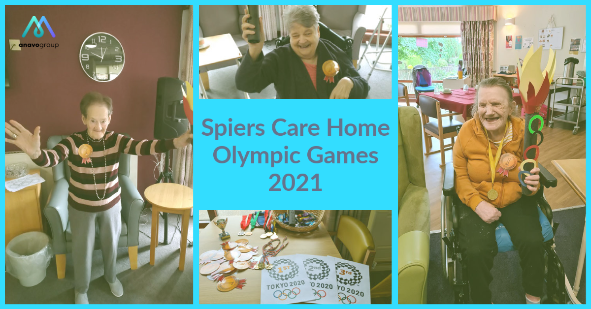 Care home Olympics day keeps residents fit and active