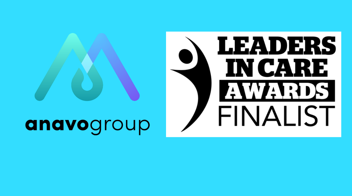 Anavo shortlisted for Leaders in Care Awards
