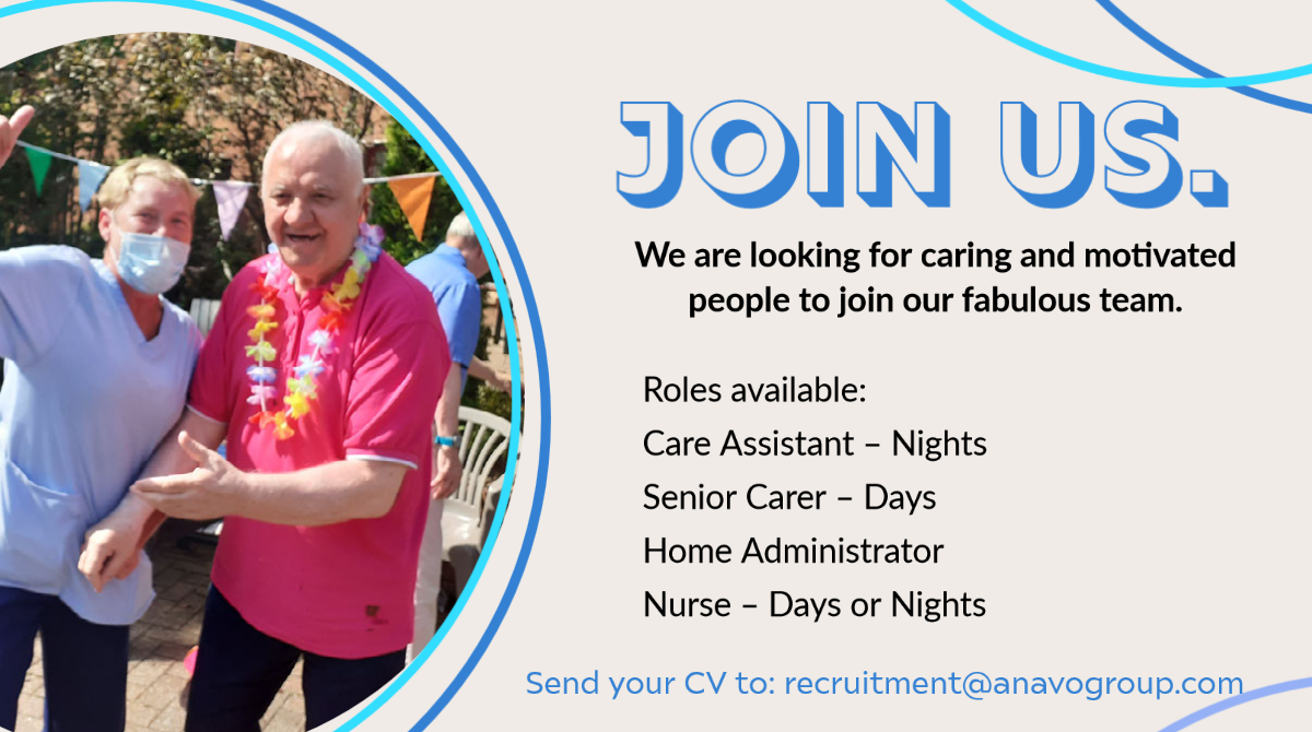 We are recruiting.